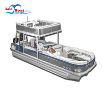 Double-decker Pontoon Boat