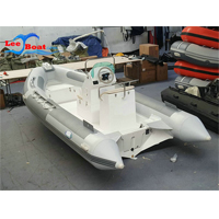 Rib Boat with Outboard Motor